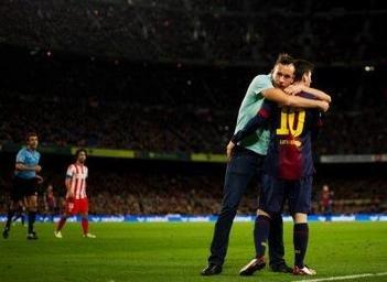 Abbraccio Messi