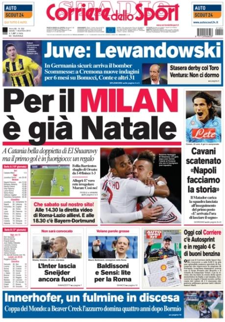 Corriere dello Sport 011212