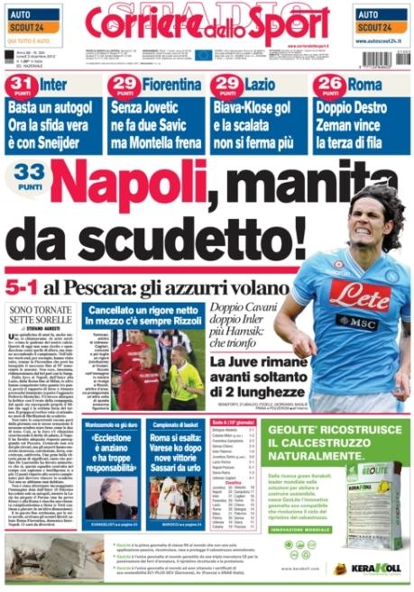 Corriere dello Sport 031212
