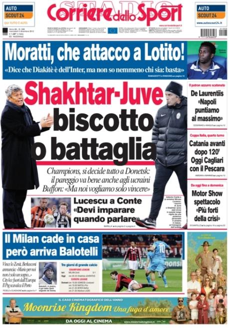 Corriere dello Sport 051212