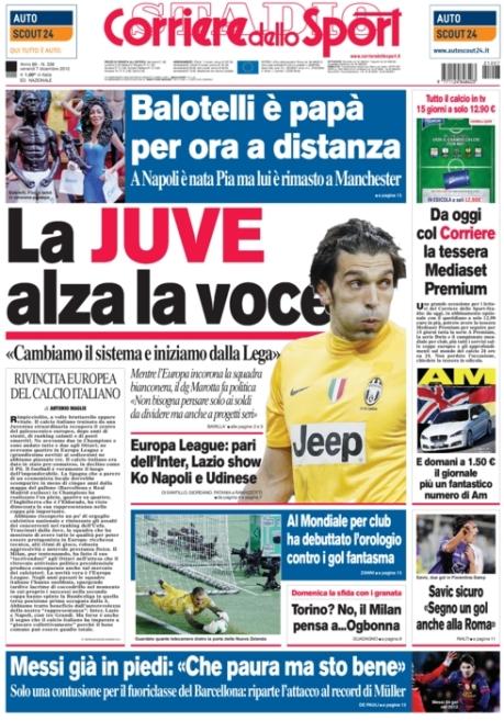 Corriere dello Sport 071212