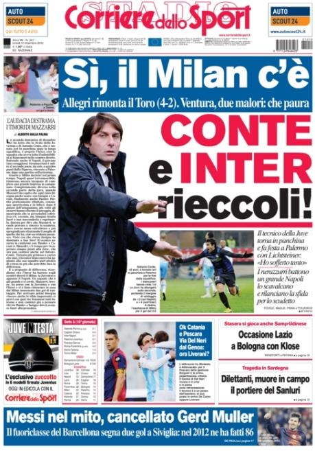 Corriere dello Sport 101212