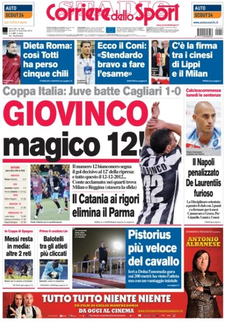 Corriere dello Sport 131212