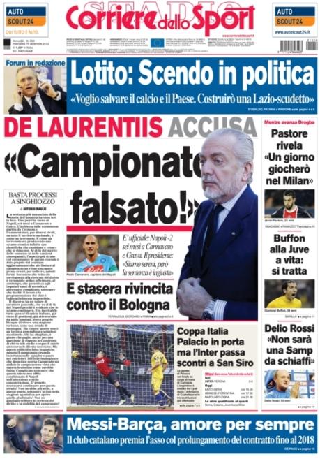 Corriere dello Sport 191212