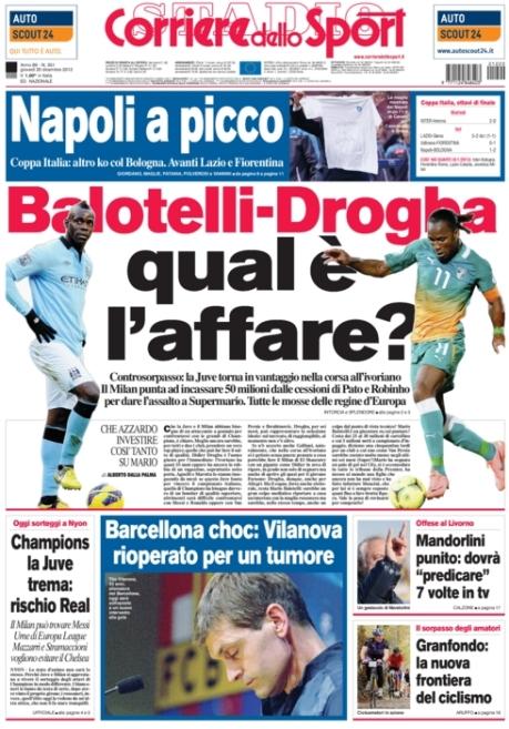 Corriere dello Sport 201212