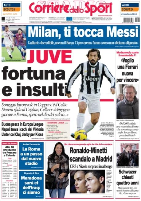 Corriere dello Sport 211212