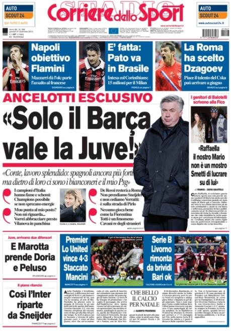 Corriere dello Sport 271212