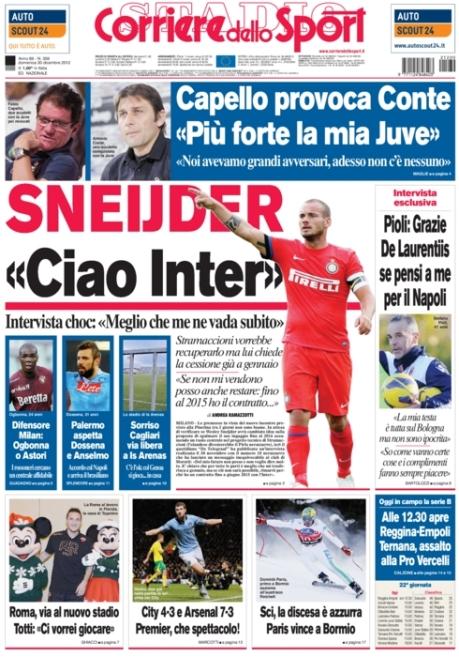 Corriere dello Sport 301212