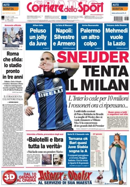 Corriere dello Sport 311212