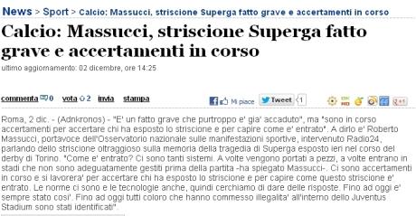 Itw Massucci 021212 - Adnkronos