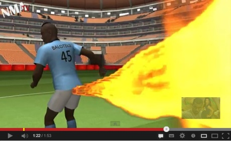 Balotelli cartoon