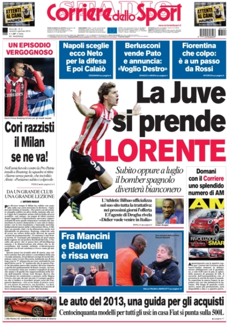 Corriere dello Sport 040113