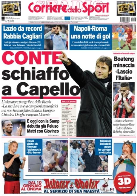 Corriere dello Sport 060113