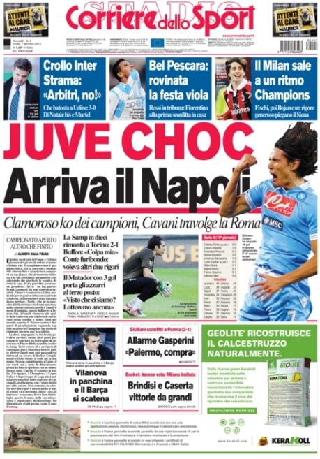 Corriere dello Sport 070113