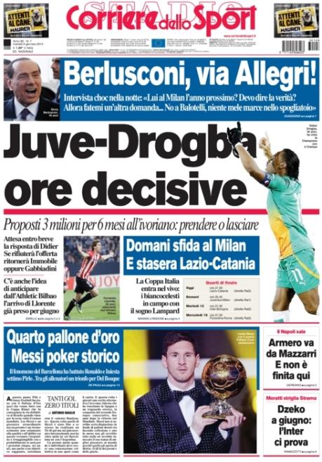 Corriere dello Sport 080113