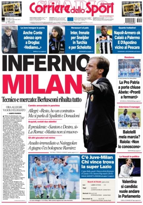 Corriere dello Sport 090113