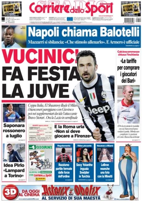 Corriere dello Sport 100113