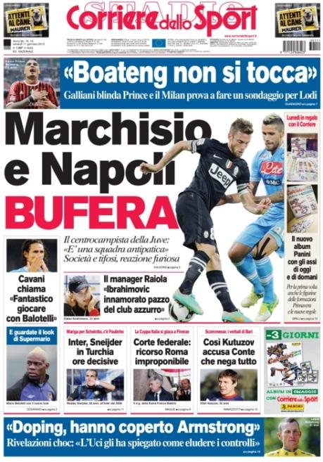 Corriere dello Sport 110113