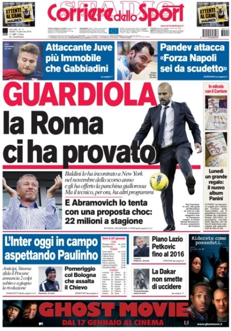 Corriere dello Sport 120113
