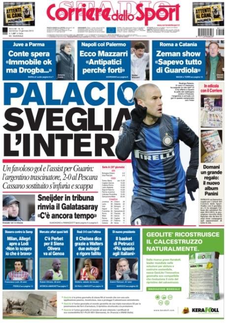 Corriere dello Sport 130113