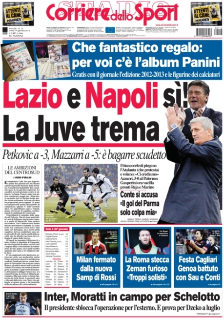 Corriere dello Sport 140113