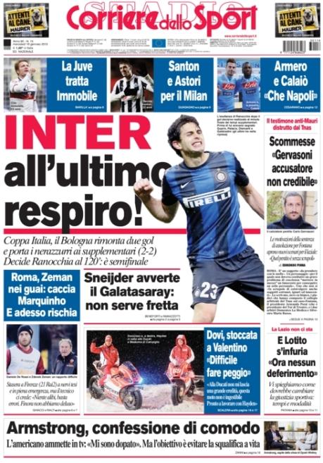 Corriere dello Sport 160113
