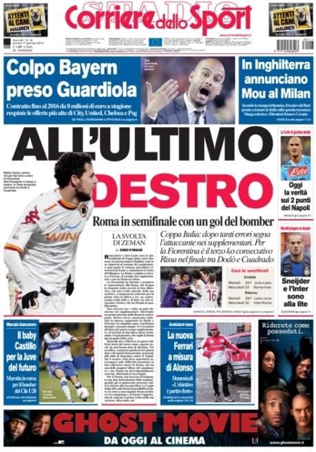 Corriere dello Sport 170113