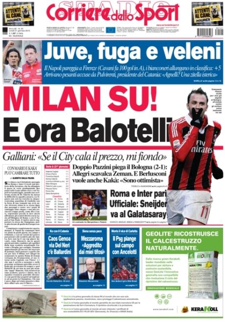 Corriere dello Sport 210113