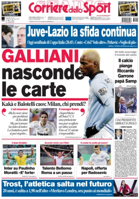 Corriere dello Sport 220113