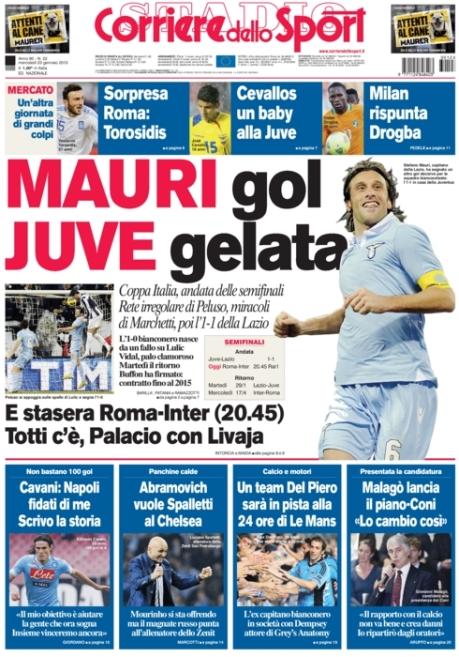 Corriere dello Sport 230113