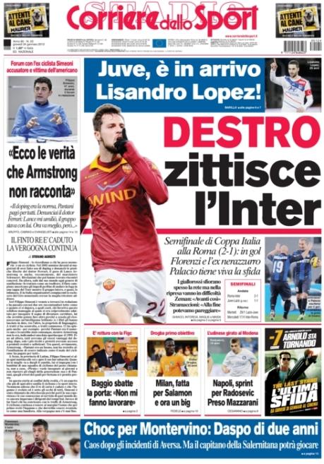 Corriere dello Sport 240113