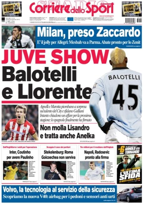 Corriere dello Sport 250113