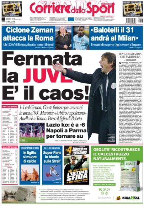 Corriere dello Sport 270113