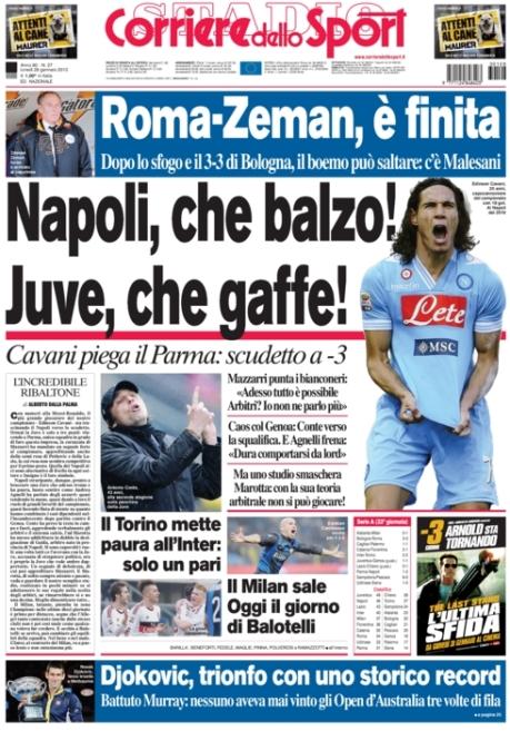 Corriere dello Sport 280113