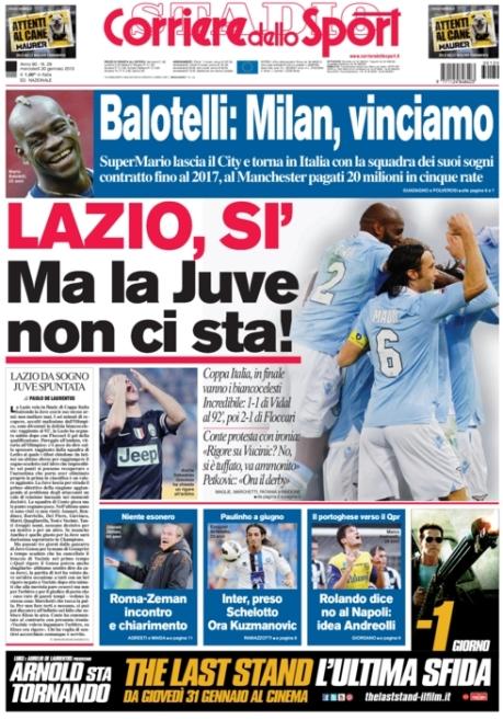 Corriere dello Sport 300113