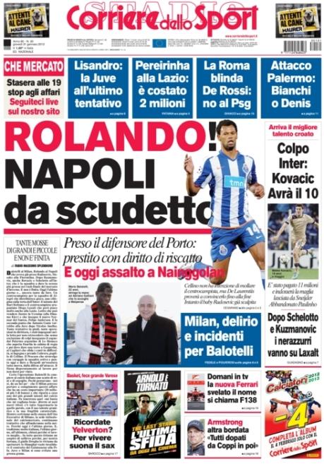 Corriere dello Sport 310113
