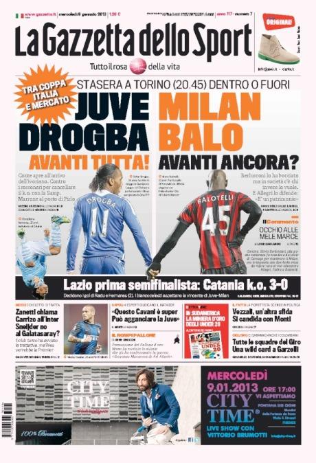 Gazzetta 090113