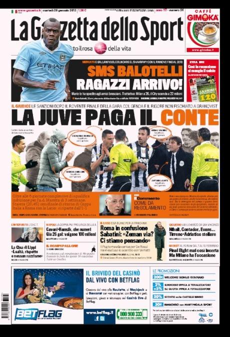 Gazzetta 290113