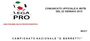 Lega Pro Berretti