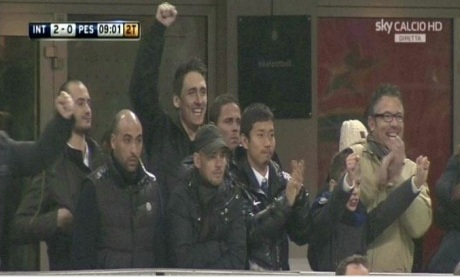 Sneijder non esulta