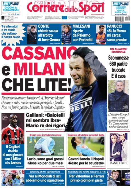 Corriere dello Sport 050213
