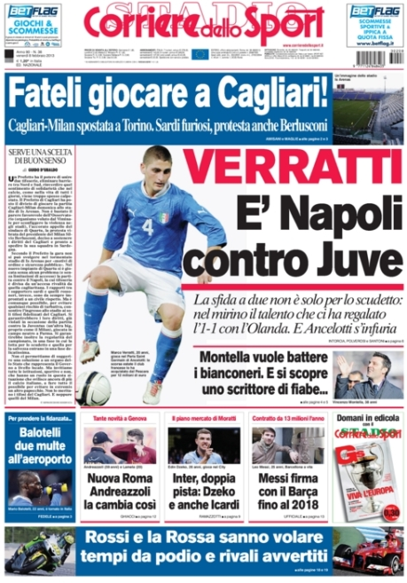 Corriere dello Sport 080213