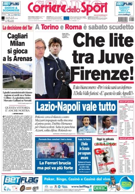 Corriere dello Sport 090213
