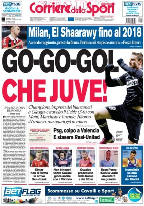 Corriere dello Sport 130213
