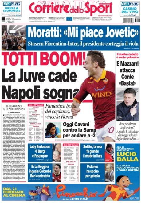 Corriere dello Sport 170213