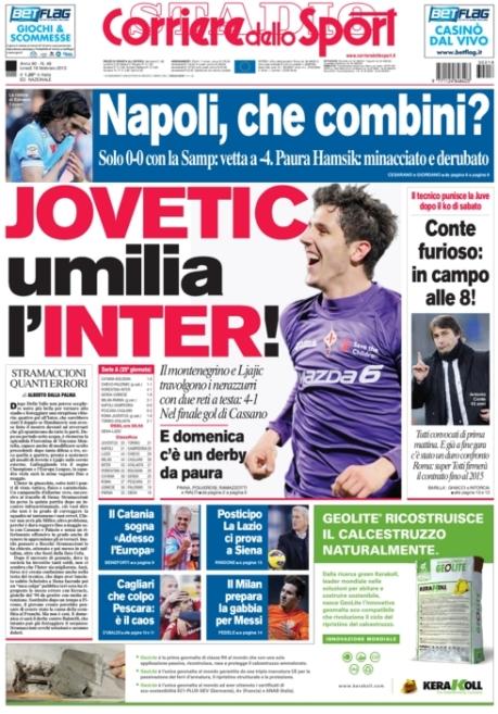 Corriere dello Sport 180213