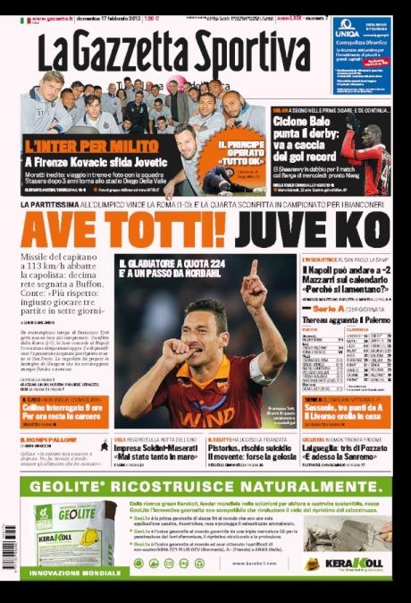 Gazzetta 170213