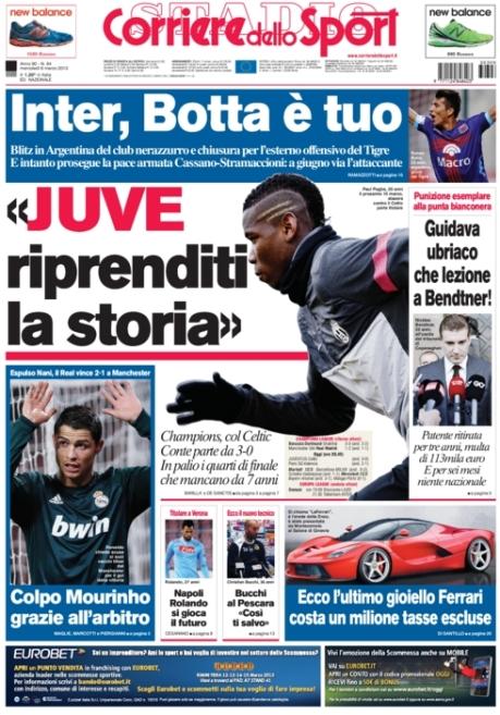 Corriere dello Sport 060313