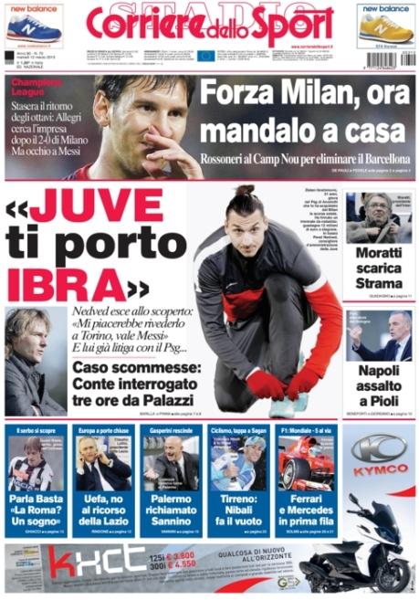 Corriere dello Sport 120313