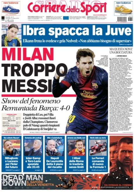 Corriere dello Sport 130313